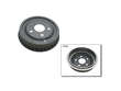 86-92 Ford Ranger 2.3 L4 2.3 PBR Brake Drum border=