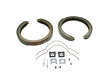 97 -  GMC Jmmy 4-DR 4WD V6 4.3 V6 4.3 PBR Parking Brake Shoe border=