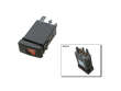 04-06 Volkswagen Beetle TDI Diesel BEW  Hazard Flasher Switch border=
