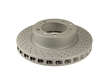 Zimmermann X-Drill Coated Disc Brake Rotor (ZXC1606199)